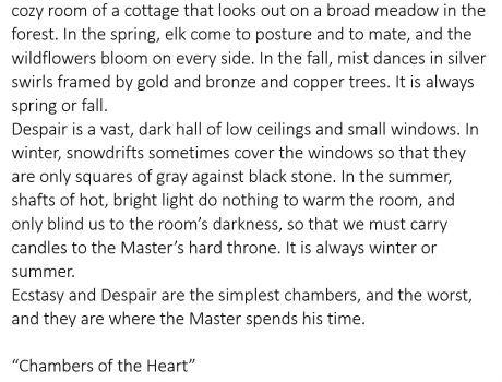 Beginnings 079 – Chambers of the Heart